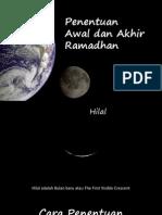 Awal Dan Akhir Ramadhan1433