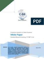 C-b4 White Paper Demand Forecasting Retail April 2011