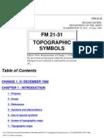 FM 21-31 - Topographic Symbols