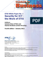 ETSI security for ICT white paper