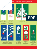 Banner Up Winter Holiday
