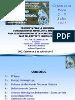 110 PP Cabeceras de Cuencas Caj 6 Jul 2012 Final UNI 14 Jul 2012
