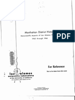 Manhattan District History - Nonscientific Aspects of Los Alamos Project Y - 1942 to 1946