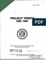 Project Trinity 1945-46