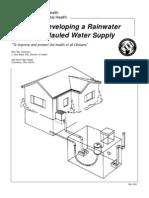 Rainwater Cisterns - Ohio Handbook