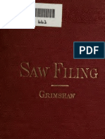 Saw Filing and Management - Grimrich 1912