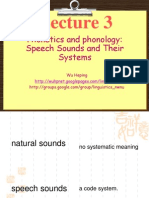 Phonetics and Phonology612