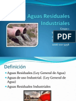 Grupo # 1 Aguas Residuales Industriales