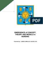 Theoretical Foundations of Nursing Practice