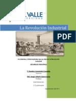 Accidentes y Enfermedades que se dan en La Revolución Industrial