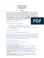 Direito Comparado - Exame 2012-07-17 proposta com tópicos