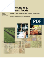 Marketing U.S. Organic Foods Recent Trends From Farms to Consumers