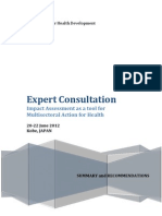 IA-MSA Expert Consultation Final Summary Report
