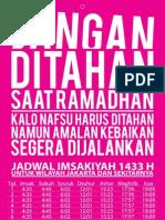 Jadwal Imsakiyah Ramadhan 1433H(2012)