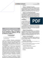 Ds 126-2012-Ef Nueva Escala Remunereativa de Trabajadores Del Ministerio Publico Sujetos Al Regimen de La 728