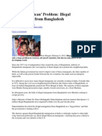India Illegal Immigration From Bangladesh