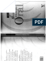 Manual de Historia Oral