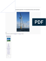 Aerodyanmic of Wind Turbine