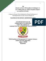 Anand Kumar Sagar Project File