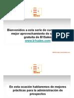 Presentacion CRM B1Sales — Presentation Transcript