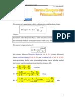 Teorema Divergensi