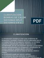 Climatizacion Bombas de Calor