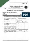 Percubaan Upsr Johor 2012 - BM Penulisan