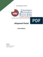 UPSI ePayment User Manual