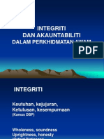 9.0 INTEGRITY