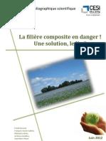Rapport composite biosourcé à base de lin