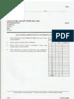 Percubaan Upsr 2012 - Pahang - Matematik Kertas 2