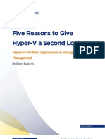 5 Reasons for Hyper v 3