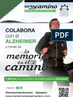 Cartel A3 La Memoria es el Camino. Imprímelo, pásalo y compártelo