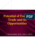 Potential of Foreign Trade and Its Oppurunities