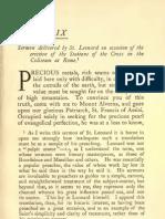 Life of St. Leonard of Port-Maurice, O.F - Devas, Dominic, b. 1888