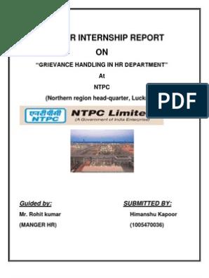 Powertech Internship