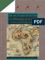 Las montañas de la luna - Sir Richard Francis Burton