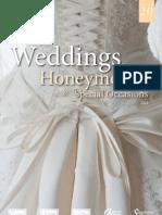 Weddings and honeymoons 2012