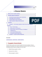 Propagation Channel Models