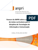 PosiçãoANPRI-MetasCurricularesTIC