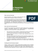 Dual-‐track financing note