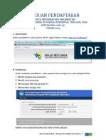 Panduan Teknis Pendaftaran Peserta Sm-3t Tahun 2012 Secara Online