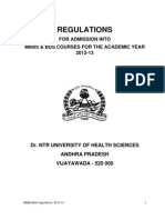 Mbbs Regulations 12