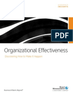 2 Organizational Effectiveness Discovering How to Make It Happen