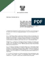 PORTARIA N 695 SEEC  FIXA CRITERIOS PARA CELEBRAÇÃO CONVENIOS