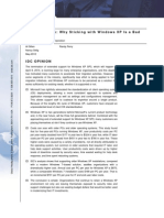 Mitigating Risk - Why Sticking With Windows XP is a Bad Idea - IDC - May 2012