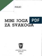 Mini Joga Za Svakoga-Jasmina Puljo