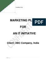 Marketing Plan IT Incubation