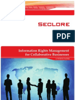Information Rights Management for Collaborative Businesses