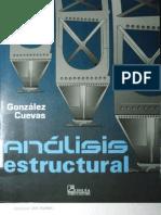 Análisis Estructural - Oscar Gonzalez Cuevas